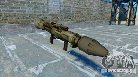Противотанковое гранатомёт JAW v2.0 для GTA 4