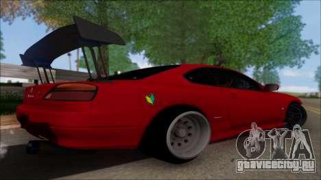 Nissan Silvia S15 V2 для GTA San Andreas вид слева