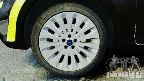 Ford Mondeo Estate Police Dog Unit [ELS] для GTA 4 вид сзади