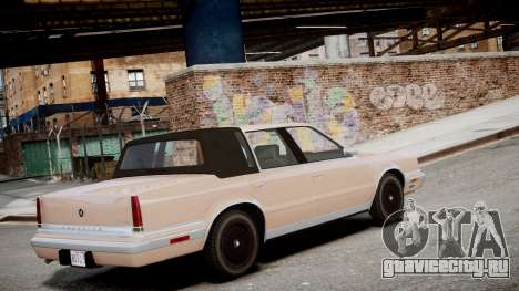 Chrysler New Yorker 1988 для GTA 4 вид слева