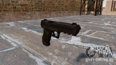 Пистолет Crysis 2 v2.0 для GTA 4
