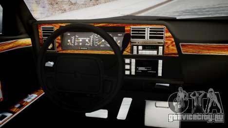 Chrysler New Yorker 1988 для GTA 4 вид справа