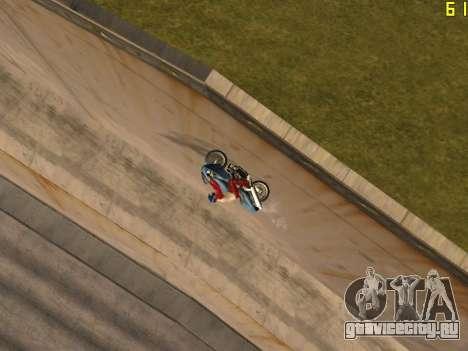 Езда по стенам и потолкам v2.0. для GTA San Andreas четвёртый скриншот