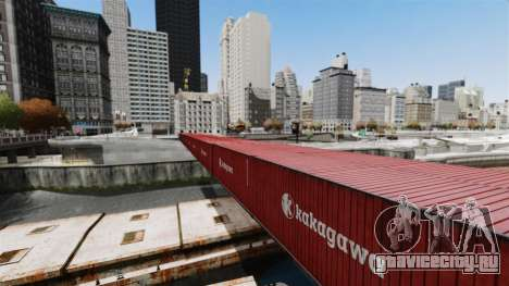 Новый мост в Ист-Айленд-Сити для GTA 4 третий скриншот