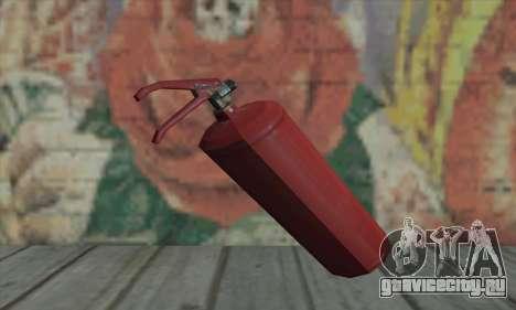 Огнетушитель из L4D для GTA San Andreas второй скриншот