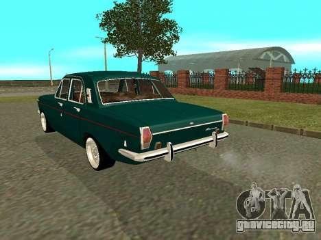 ГАЗ 24-01 Волга для GTA San Andreas вид справа