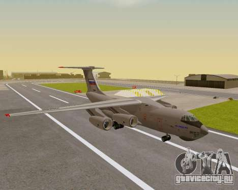 Ил-76МД-90А (Ил-476) для GTA San Andreas