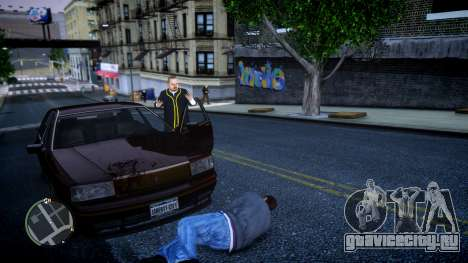 GTA HD Mod для GTA 4 четвёртый скриншот