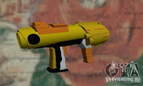 Nerf Gun для GTA San Andreas второй скриншот