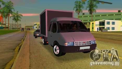 Газель 33023 для GTA Vice City вид слева