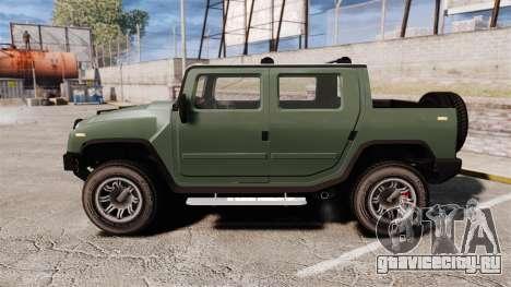 Patriot pickup для GTA 4 вид слева