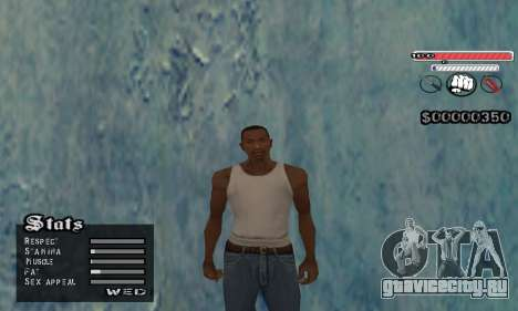 C-HUD v2 для GTA San Andreas