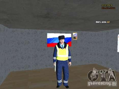 Пак ДПС в зимней форме для GTA San Andreas второй скриншот