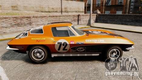 Chevrolet Corvette C2 1967 для GTA 4 вид слева