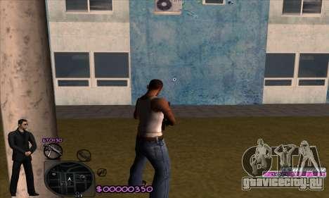 C-HUD Woozie для GTA San Andreas второй скриншот