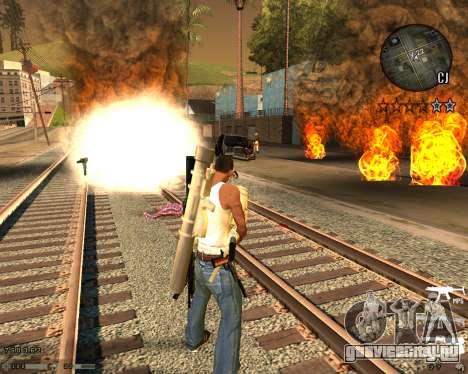 C-HUD CS:GO для GTA San Andreas второй скриншот