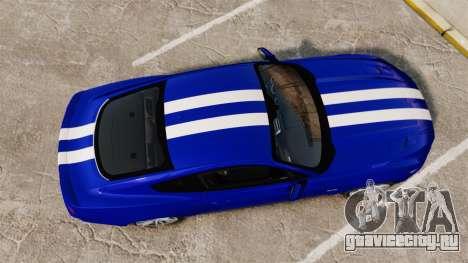Ford Mustang GT 2015 Stock для GTA 4 вид справа