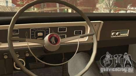Plymouth Belvedere 2-door Sedan 1965 для GTA San Andreas вид справа