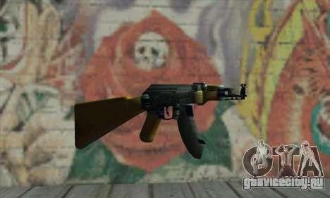 AK-47 для GTA San Andreas второй скриншот