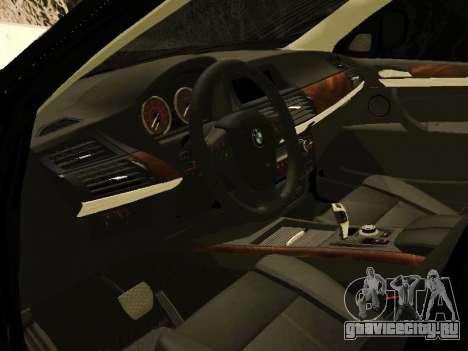 BMW X5 E70 2009 для GTA San Andreas вид справа