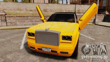 Super Drop Diamond VIP для GTA 4 вид сзади