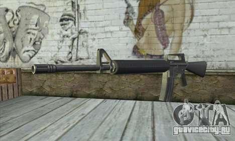 M4A1 из Postal 3 для GTA San Andreas