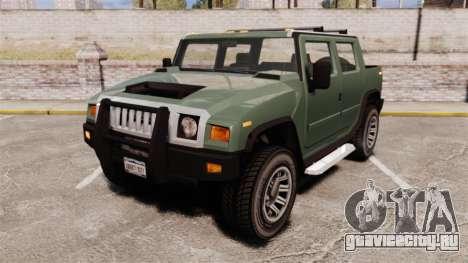 Patriot pickup для GTA 4