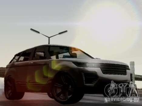 Baller 2 из GTA V для GTA San Andreas вид сзади