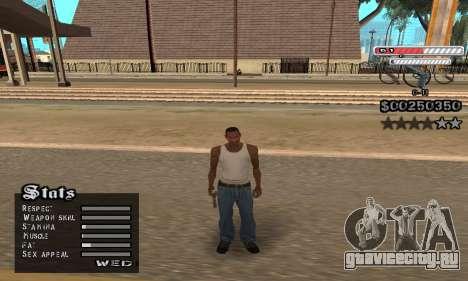 C-HUD v2 для GTA San Andreas четвёртый скриншот