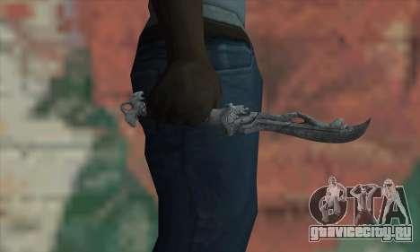 Chinese knife для GTA San Andreas третий скриншот