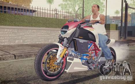Ducati Diavel Carbon 2011 для GTA San Andreas вид слева