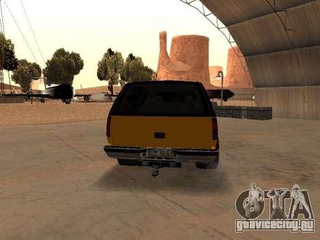 GMC Yukon для GTA San Andreas вид справа