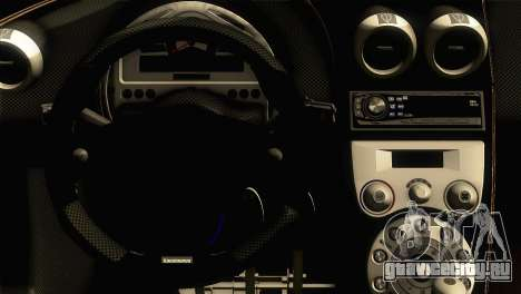 Koenigsegg CCX 2006 Autovista для GTA San Andreas вид справа