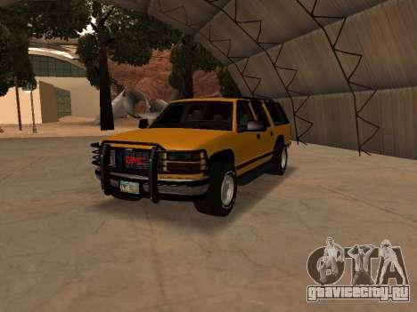 GMC Yukon для GTA San Andreas