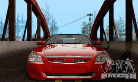 LADA 2170 для GTA San Andreas вид слева