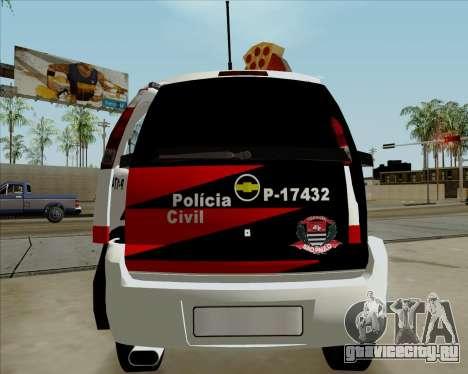 Chevrolet Meriva для GTA San Andreas вид справа