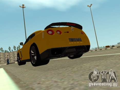 Nissan GT-R AMS Alpha 12 для GTA San Andreas вид слева