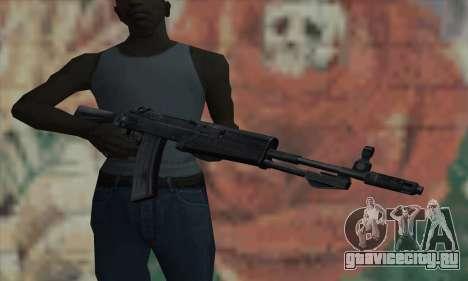 AK47 из S.T.A.L.K.E.R. для GTA San Andreas третий скриншот