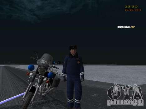 Пак ДПС в зимней форме для GTA San Andreas девятый скриншот