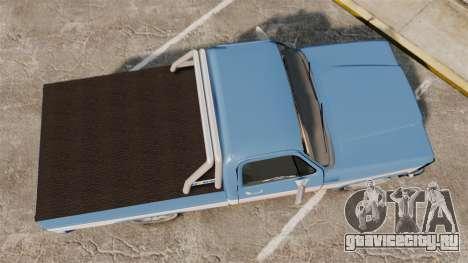 Chevrolet D-20 Custom для GTA 4 вид справа
