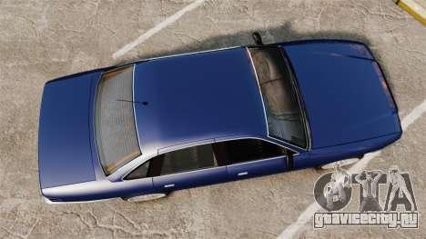 Civil Cruiser для GTA 4 вид справа