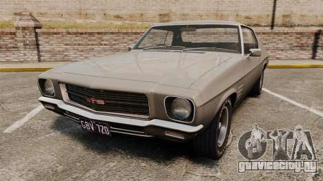 Holden Monaro GTS 1971 для GTA 4