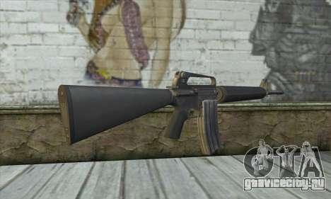 M4A1 из Postal 3 для GTA San Andreas второй скриншот