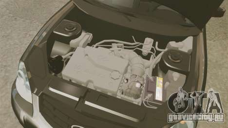ВАЗ-2170 FBI для GTA 4 вид изнутри