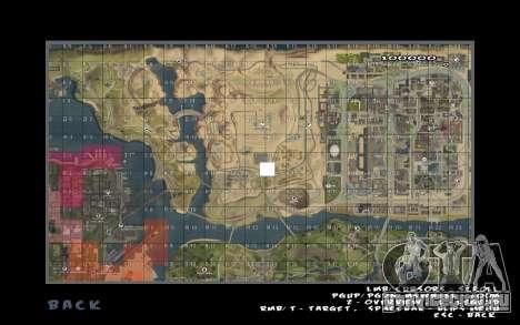 Rapid opening map для GTA San Andreas второй скриншот