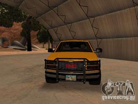 GMC Yukon для GTA San Andreas вид слева