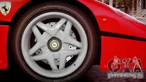 Ferrari F50 1995 для GTA 4 вид сзади слева