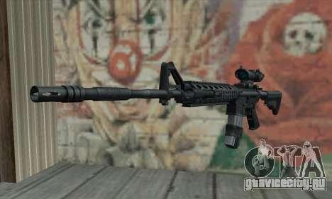 M4 RIS Acog Sight для GTA San Andreas