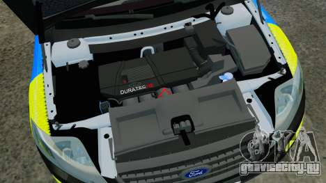 Ford Mondeo Estate Police Dog Unit [ELS] для GTA 4 вид изнутри