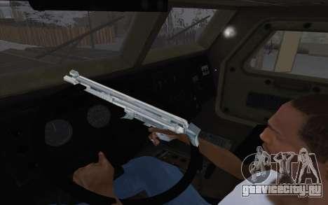 MRAP из BF4 для GTA San Andreas вид сзади